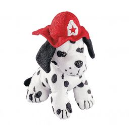 Firefighter & Dalmatians